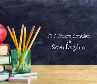 TYT Türkçe Konuları ve Soru Dağılımı